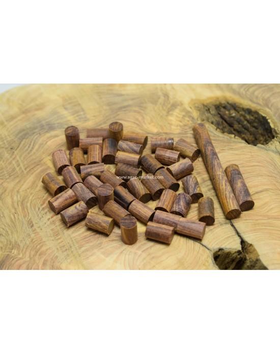 Cocobolo Ağacı Tesbihlik Yuvarlanmış Hazır Paket