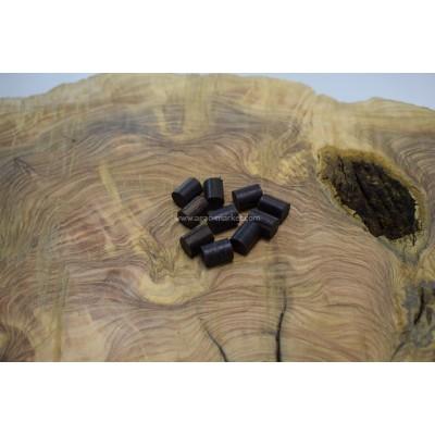 Blackwood Ağacı Tesbihlik Yuvarlanmış Yedek Taneler Paket