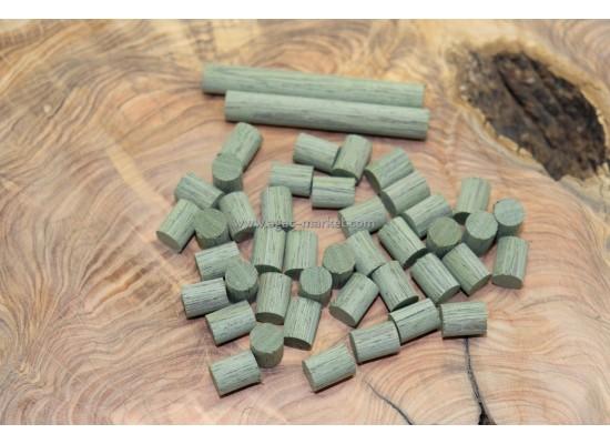 Yeşil Deco Wood Tesbihlik Yuvarlanmış Hazır Paket