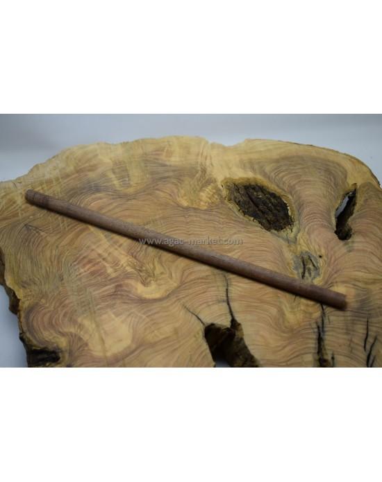 Azobe Ağacı Tesbihlik Çıta Yuvarlanmış 10mm