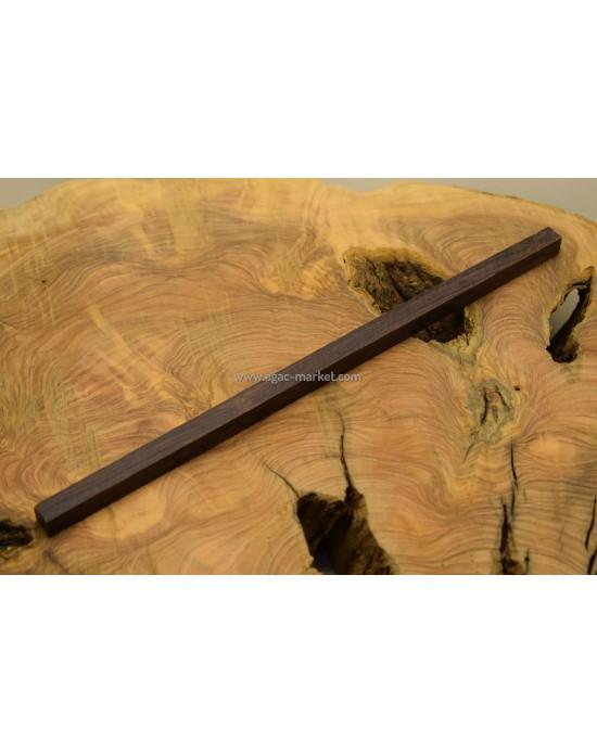Blackwood Ağacı Tesbihlik Çıta 30x30x260mm