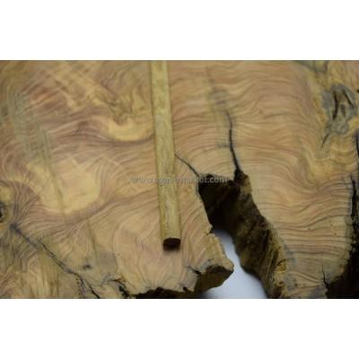 İroko Ağacı Desenli Tesbihlik Çıta Yuvarlanmış 9mm