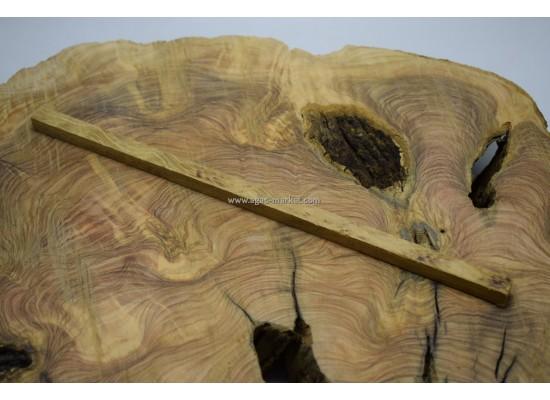 İroko Ağacı Desenli Tesbihlik Çıta