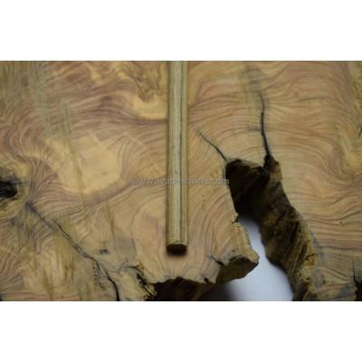 Ovenkol Ağacı Tesbihlik Çıta Yuvarlanmış 10mm