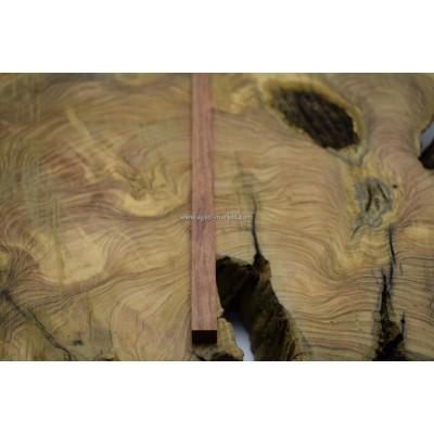 Ovenkol Ağacı Kırmızı Tesbihlik Çıta 20x20x260mm