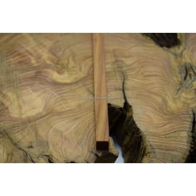 Pelesenk Ağacı Tesbihlik Çıta 15x15x260mm